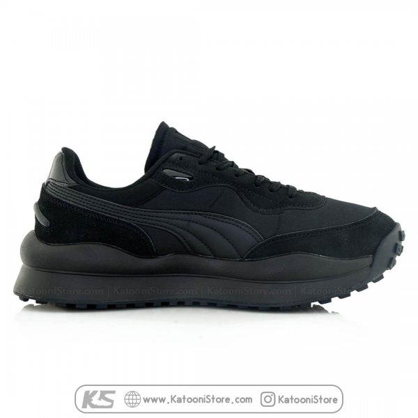 کفش اسپرت و کتونی پوما استایل رایدر ( تمام مشکی ) - Puma Style Rider OG Pack ( Full Black )