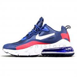 کفش اسپرت و کتونی نایک ایرمکس ۲۷۰ ری اکت ( سورمه ای ) - Nike Air Max 270 React ( Dark Blue )