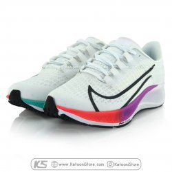 کفش اسپرت و کتونی نایک ایرزوم پگاسوس ۳۷ ( سفید رنگارنگ ) - Nike Air Zoom Pegasus 37 ( White Colorful )