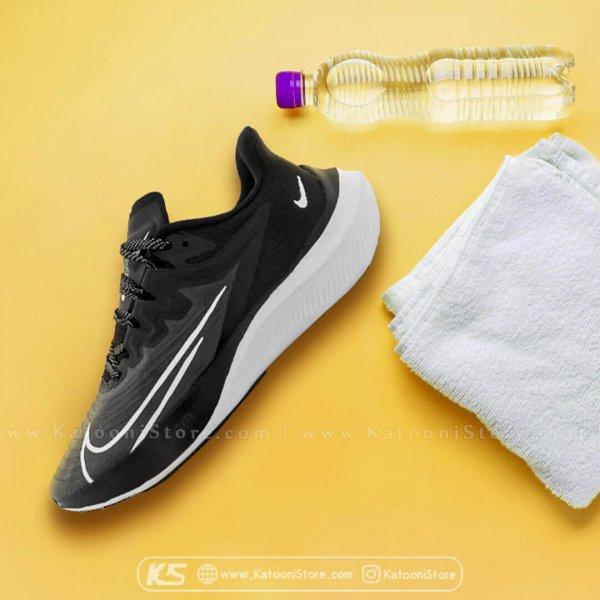 کفش اسپرت و کتونی نایک زوم گراویتی ۲ ( مشکی سفید ) - Nike Zoom Gravity 2 ( Black White )