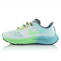 کفش اسپرت و کتونی نایک ایرزوم پگاسوس ۳۷ ( سفید سبز ) - Nike Air Zoom Pegasus 37 ( White Green )