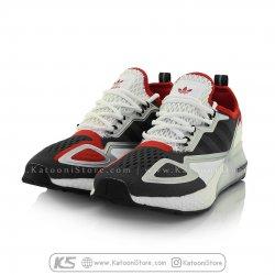 کفش اسپرت و کتونی آدیداس زد ایکس ( مشکی قرمز ) - Adidas ZX 2K Boost ( Black Red )