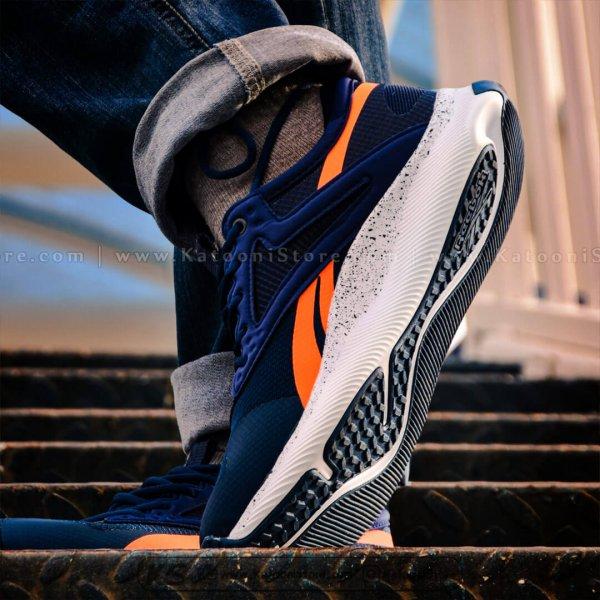 کفش اسپرت و کتونی ریباک هیت تی آر ( تیره نارنجی ) - Reebok HIIT TR ( Dark Blue Orange )