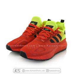 کفش اسپرت و کتونی آدیداس زد ایکس ( زرد قرمز ) - Adidas ZX 2K Boost ( Red Yellow )