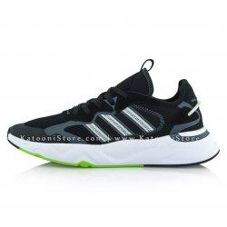 کفش اسپرت و کتونی آدیداس فیوچر فلو ( مشکی کف سبز - Adidas Future Flow ( Black Green )