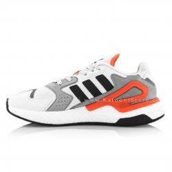 کفش اسپرت و کتونی آدیداس دی جاگر ( سفید نارنجی ) - Adidas Day Jogger ( White Orange )