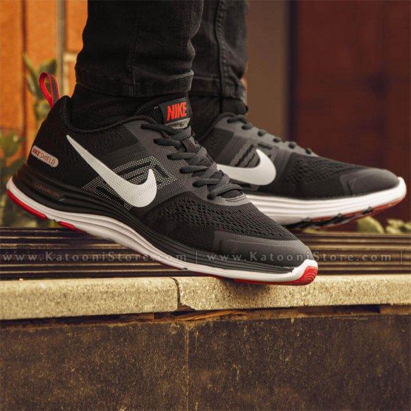 کفش اسپرت و کتونی نایک ایر زوم پگاسوس ۳۰ ایکس مشکی کف قرمز - Nike Air Zoom Pegasus 30X ( Black White Red )