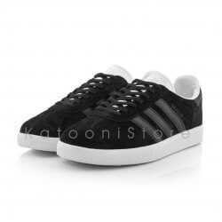 کفش اسپرت و کتونی آدیداس گزل مشکی سفید - Adidas Gazelle Black White