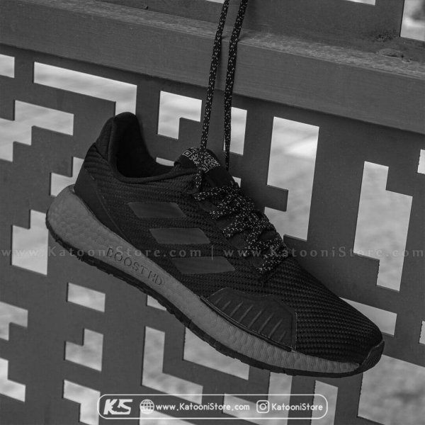 کفش اسپرت و کتونی آدیداس پالس بوست ( تمام مشکی ) - Adidas PulseBoost HD ( Full Black )