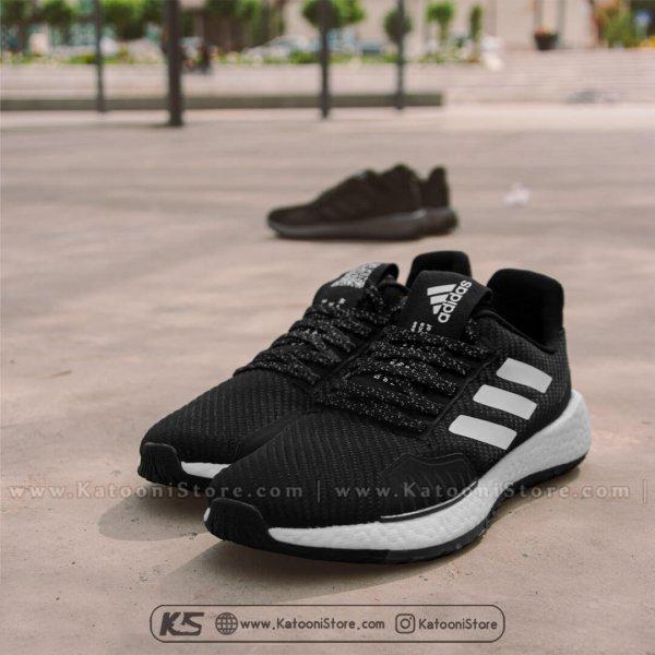 کفش اسپرت و کتونی آدیداس پالس بوست ( مشکی سفید) - Adidas PulseBoost HD (Black White)