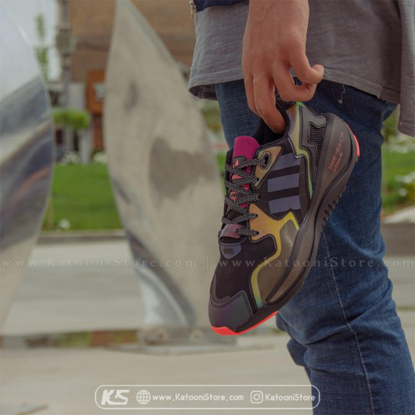 کفش اسپرت و کتونی آدیداس زد ایکس آلکاین ( مشکی شبرنگ ) - Adidas ZX Alkyne Neo Tokyo ( Black Rainbow )