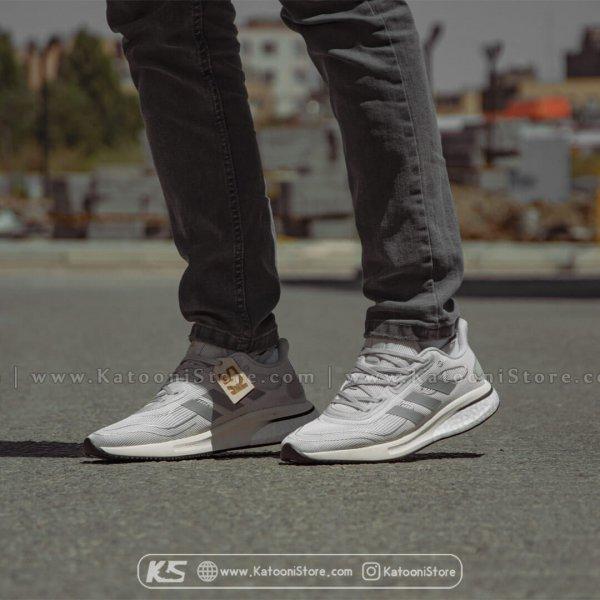 کفش اسپرت و کتونی آدیداس سوپرنوا خاکستری سفید - Adidas Supernova ( Gray White )
