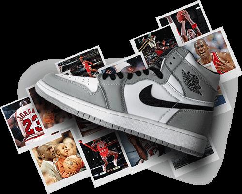 بنر کتونی نایک ایر جردن 1 - Nike Air Jordan 1 Banner