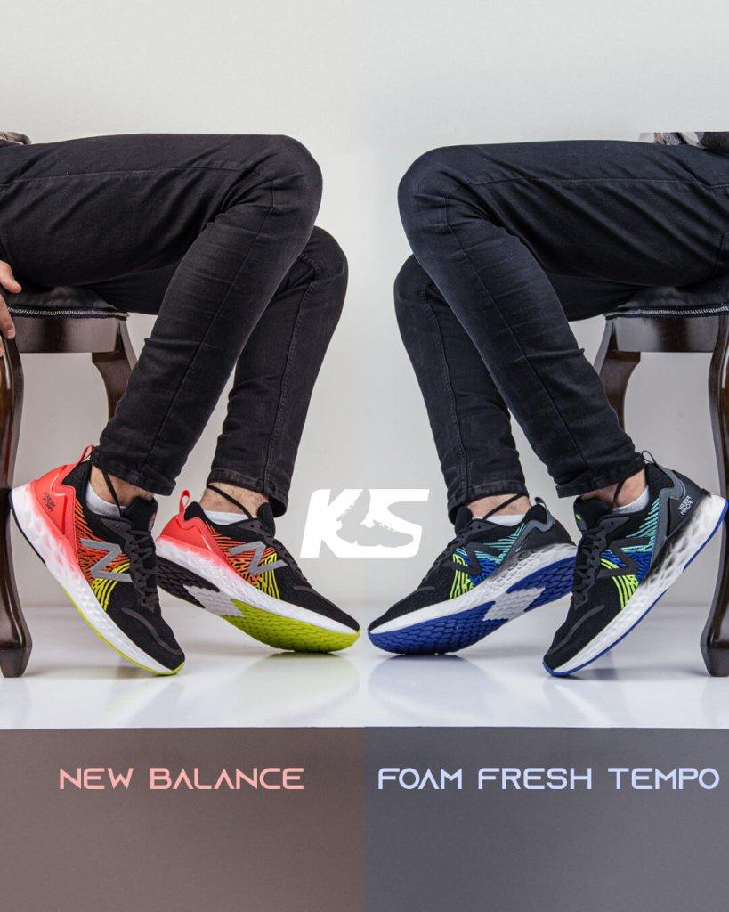 کاور ویدیو جذاب نیوبالانس فرش فوم تمپو - New Balance Fresh Foam tempo